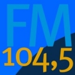 Logo da emissora R�dio Fama 104.5 FM