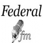 Logo da emissora Rádio Federal 107.9 FM