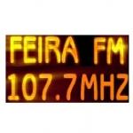 Logo da emissora R�dio Feira 107.7 FM