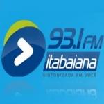 Logo da emissora R�dio FM Itabaiana 93.1 FM