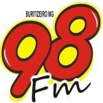 Logo da emissora R�dio Cidade 98.7 FM
