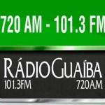 Logo da emissora R�dio Gua�ba 720 AM 101.3 FM