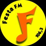 Logo da emissora Rádio Festa 106.3 FM