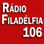 Logo da emissora Rádio Filadélfia 106 FM