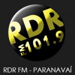 Logo da emissora Rádio RDR FM 101.9