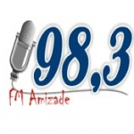 Logo da emissora Rádio Amizade 98.3 FM