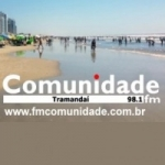 Logo da emissora Rádio Comunidade 98.1 FM