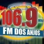 Logo da emissora Rádio FM dos Anjos 106.9