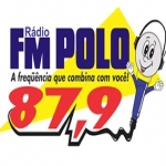 Logo da emissora R�dio FM Polo 87.9