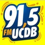 Logo da emissora R�dio FM UCDB 91.5 FM