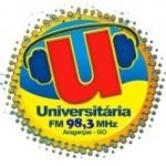 Logo da emissora Rádio FM Universitária 98.3 FM