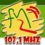 Logo da emissora R�dio FMZ 107.1 FM