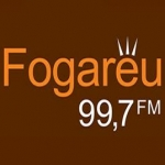 Logo da emissora Rádio Fogaréu 99.7 FM