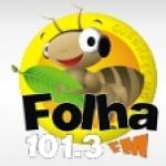 Logo da emissora R�dio Folha 101.3 FM