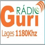 Logo da emissora Rádio Guri 1180 AM