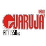 Logo da emissora R�dio Guaruj� 1550 AM