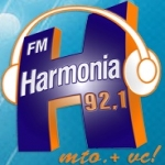 Logo da emissora R�dio Harmonia 92.1 FM