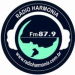 Logo da emissora Rádio Harmonia 87.9 FM