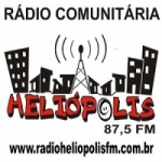 Logo da emissora Rádio Heliópolis 87.5 FM