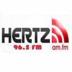 Logo da emissora Rádio Hertz 96.5 FM