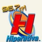 Logo da emissora R�dio Hiperativa 96.7 FM