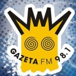 Logo da emissora Rádio Gazeta 98.1 FM