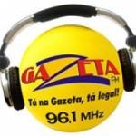 Logo da emissora Rádio Gazeta 96.1 FM