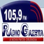 Logo da emissora R�dio Gazeta 105.9 FM