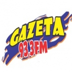 Logo da emissora Rádio Gazeta 93.3 FM