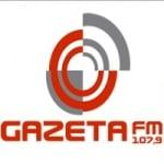 Logo da emissora Rádio Gazeta 107.9 FM