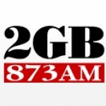 Logo da emissora Radio 2GB 873 AM
