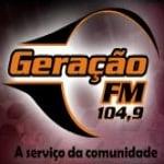 Logo da emissora R�dio Gera��o 104.9 FM