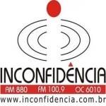 Logo da emissora R�dio Inconfid�ncia 100.9 FM