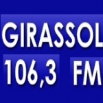 Logo da emissora R�dio Girassol 106.3 FM