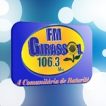 Logo da emissora Rádio Girassol 106.3 FM