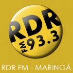 Logo da emissora Rádio RDR 93.3 FM
