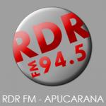 Logo da emissora Rádio RDR 94.5 FM