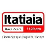 Logo da emissora Rádio Itatiaia 1120 AM