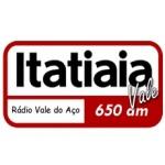 Logo da emissora R�dio Itatiaia 650 AM