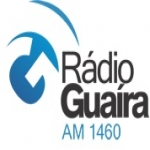 Logo da emissora Rádio Guaíra 1460 AM
