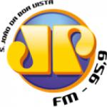 Logo da emissora Rádio Jovempan 95.9 FM