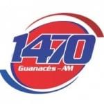 Logo da emissora R�dio Guanac�s 1470 AM