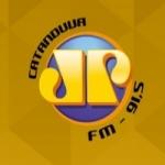 Logo da emissora R�dio Jovem Pan 91.5 FM