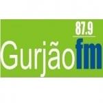 Logo da emissora R�dio Gurj�o 87.9 FM