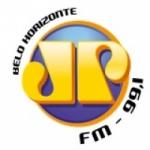Logo da emissora Rádio Jovempan 99.1 FM