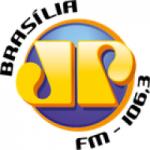 Logo da emissora Rádio Jovempan 106.3 FM