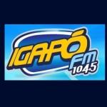 Logo da emissora R�dio Igap� 104.5 FM