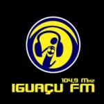 Logo da emissora R�dio Igua�u 104.9 FM
