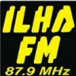 Logo da emissora R�dio Ilha 87.9 FM