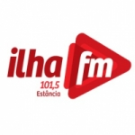 Logo da emissora Rádio Ilha 101.5 FM